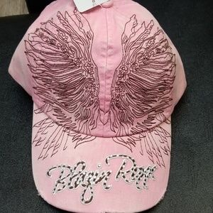 Blazin Roxy  Angel wing design baseball cap